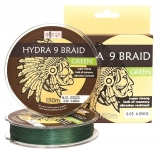 ABORIGEN HYDRA 9 BRAID GREEN 150 m