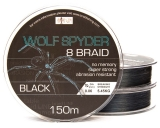 ABORIGEN WOLF SPYDER 8 BRAID BLACK 150 m