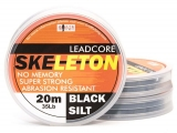 SKELETON LEADCORE BLACK SILT 20 m