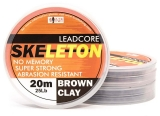 SKELETON LEADCORE BROWN CLAY 20 m