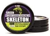 SKELETON CARP LEADER SKINLINE WEEDY GREEN 10m