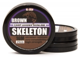 SKELETON CARP LEADER SKINLINE BROWN CLAY 10m