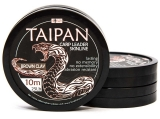 TAIPAN CARP LEADER SKINLINE BROWN CLAY 10 m
