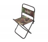 Складной стульчик для рыбалки с спинкой, размеры 32х30х41см