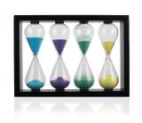Часы песочные набор в рамке, 2-5-8-10 минут
