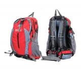 Рюкзак красно-серый объемом 40 литров