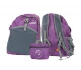 Рюкзак фиолетовый объемом 22 литров